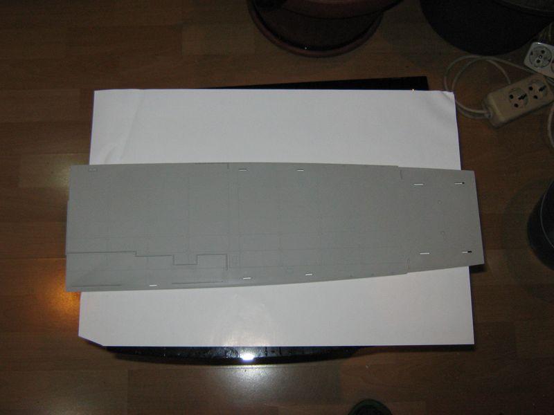 Merit Bausatz Flugzeugträger CV 8 Hornet 1/200 Hornet%20013