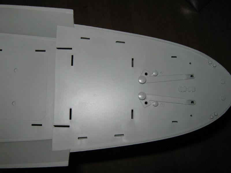 Merit RC Flugzeugträger CV 8 Hornet 1/200 Baubericht Hornet%20047