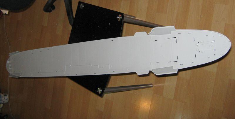 Merit RC Flugzeugträger CV 8 Hornet 1/200 Baubericht Hornet%20048