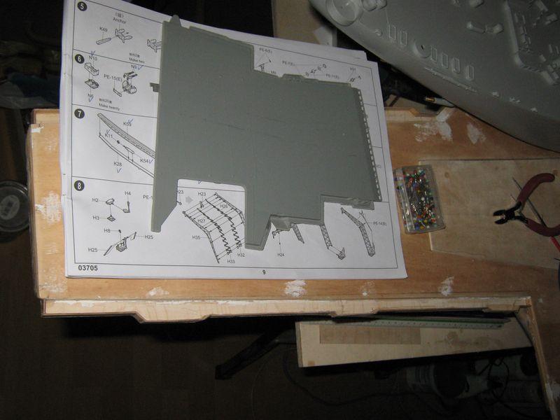 Baubericht Flugzeugträger CVN 65 im Maßstab 1/200 nach eigener Planung - Seite 10 Enterprise%20105