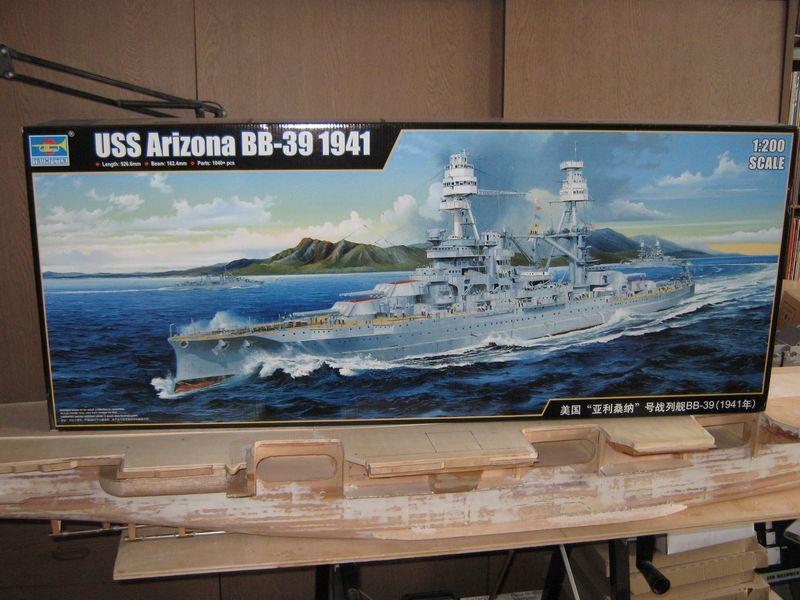 Vorstellung USS Arizona von Trumpeter in 1/200 Arizona%20001
