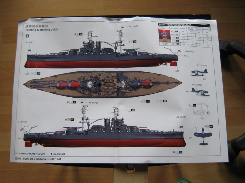 Vorstellung USS Arizona von Trumpeter in 1/200 Arizona%20003