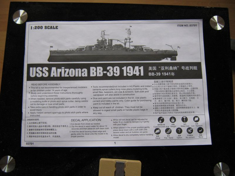Vorstellung USS Arizona von Trumpeter in 1/200 Arizona%20004