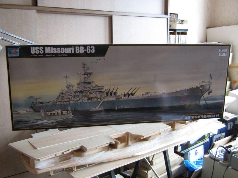 Vorstellung USS Missouri von Trumpeter in 1/200 Missouri%20001