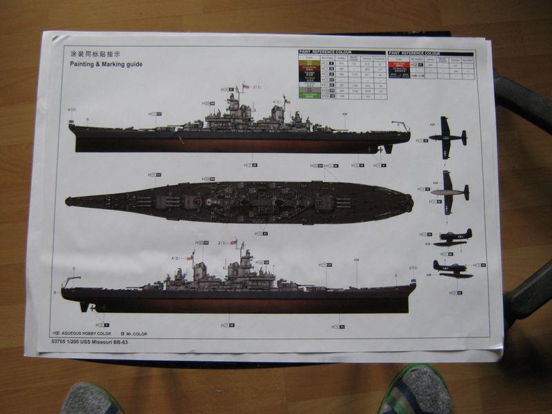 Vorstellung USS Missouri von Trumpeter in 1/200 Missouri%20003