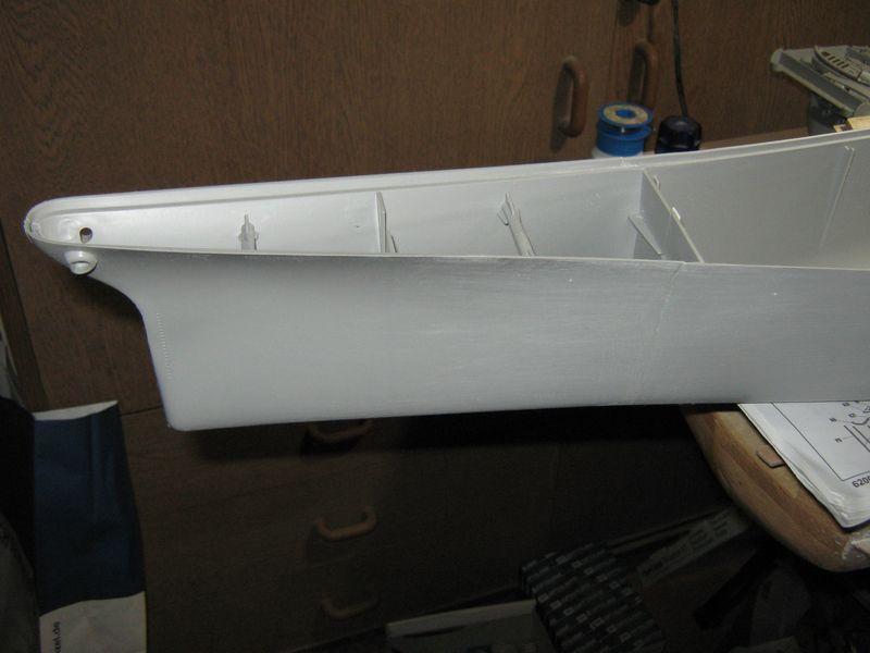 Bau der Missouri von Trumpeter in 1/200 Missouri%20040