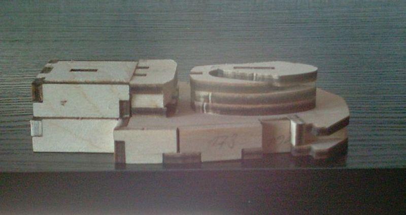 Schlachtschiff Bismarck von Amati 1/200 Bismarck%200036